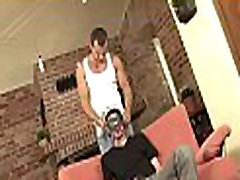 Charming flower boy is sucking gay stud&039s ramrod hungrily