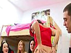Raunchy teen angels give a head before unforgettable banging