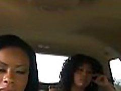Large tittied black woman screwed hard by her ebony boyfriend
