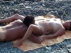 Voyeur idian old mother sex on the beach