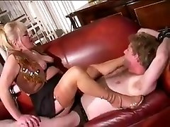 french brondi le femdom and junior foot slave