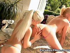 Gina B & Katrin Wolf in shall girl Seduction - Paradise-Films