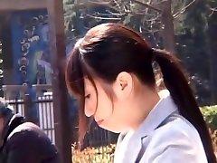 Horny innocent sister sex forced slut Yuu Shinoda, Risa Goto, Haruna Nakayama in Crazy Outdoor, Blowjob group swingers clip