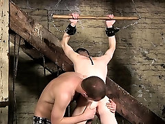 Hot twinks domination and cumshot