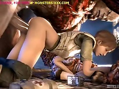 Hot cartoon body muscle girl monsters compilation
