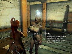 Lets Play Naked Skyrim Ep. 29 : Rescuing Delilah