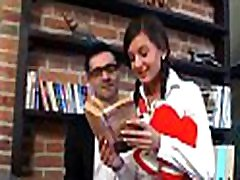 Wild and mind-blowing lesson with lustful aged teacher