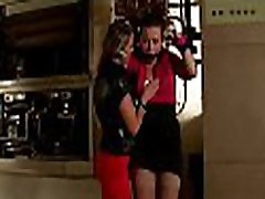 Hot bdsm festish with wicked mistress flogging her slave hard