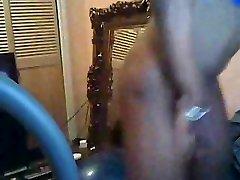 Amazing ebony four penetration on cam