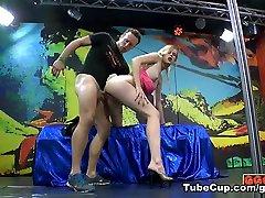 Claudia in Claudia the Sperm Model - GermanGooGirls