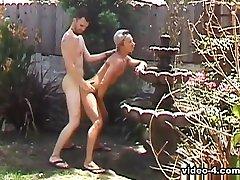 Alex Keyes & Alexander Carino & Antonio & Art & Barry Long in Bareback Butt Suckers Scene 1 - Bromo