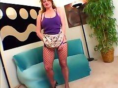 Horny pornstar in best big tits, stockings porn clip