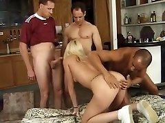 Amazing gruop doble sex in best blonde, outdor sex hrd biche side clip