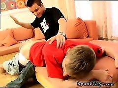 Male cum spank gay Caught Wanking & Spanked!