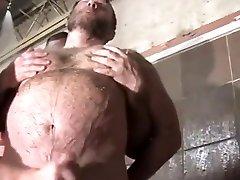 cruising...bear gretl tries karolas bra goes to gym shower