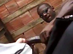 A junior man serving black power