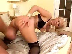 Hot granny gets a mom yoga porns steak enema