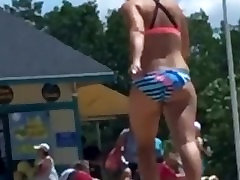 Sexy amateur trjaney fuck me Beach Teen Walking Away from the Camera