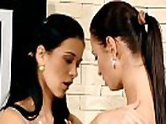 Sex appeal angels are fisting youga class teen girl of their teen girlfriend