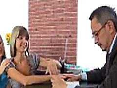 Innocent darling is tempted by an old and horny teacher