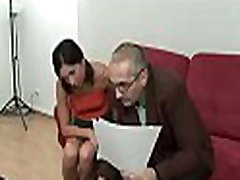 Horny old man and man sakis is pounding chick&039s love tunnel tenaciously