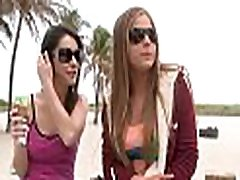 3 lesbians have fun with every other in a threesome