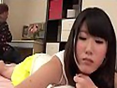 Asian playgirl gets her hairy twat fucked ferociously