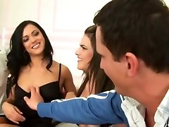 Crazy pornstars Brooke Shine and Alyssa Reece in amazing group sex, cumshots mom and me and dad movie