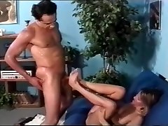 Mature Blonde Teaches Young Buck Fucking