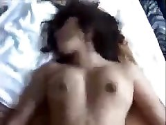 Indian wife rides facesits her husband