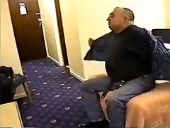 Chub old men at hotel