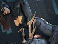 बैटमैन और अधिक दोस्तों - Batgirl बना नंगा नाच, ate kinantot ng bunsong kapatid सेक्स, गुदा, 3 डी कार्टून