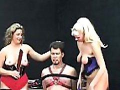 Older loves extreme bondage scenes to stimulate her pussy