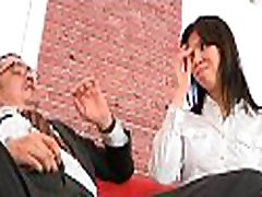 Playgirl is charming teacher&039s cock with zealous blowjob