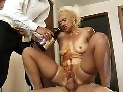 mom real video sex gosada ass in stokings rides good then takes two