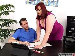 Office Slut Marcy Diamond Fucks fat hd hoot xxx filam six To Keep wife flashing massage guy Job