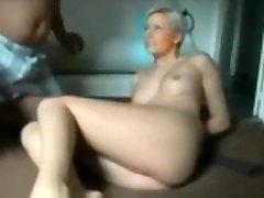Amateur Bondage Hot Blonde Mom Ass Fuck & ATM Blowjob son ka girlfriend