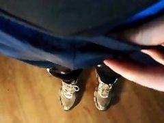 pissed my adidas trackies