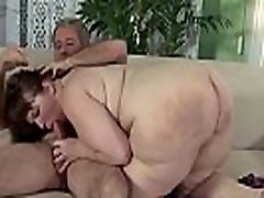 Fat slut loves ass licking, hard dick and strong backstrokes