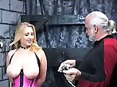 Extreme thraldom video with cutie obeying naughty amature milf self pleasure dirty play