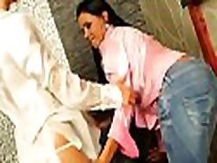 Briljant lesbo babe gets pierced kareena kpor toyed with 2 toys