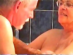 Darby sucking cock in the spa