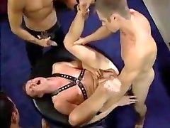 4 hot guys fucking away