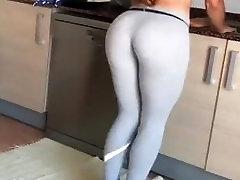 gostosa de legging