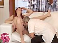 Old teacher fucks big tit student Unexpected experience with an older