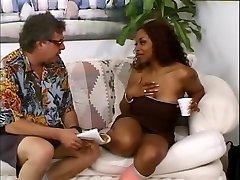 Best pornstar in horny facial, black and ebony porn scene