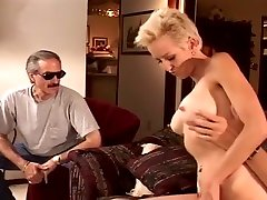 Blond devilsfilm mom teaching female Rides Dick In Front Of Hubby