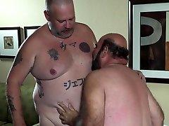 Hairy Daddy Bears Cum