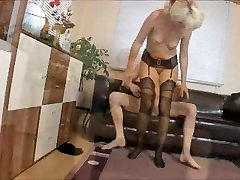 Mature MILF fucked by HUGE Teen Cock - Amazing Facial and Swallow