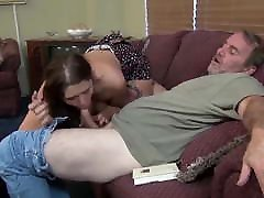 Big tit daughter wants her Daddy
